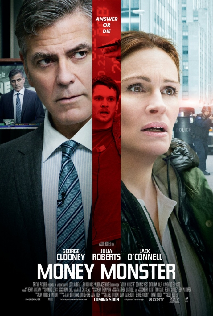 Money Monster, thriller financiero de Jodie Foster